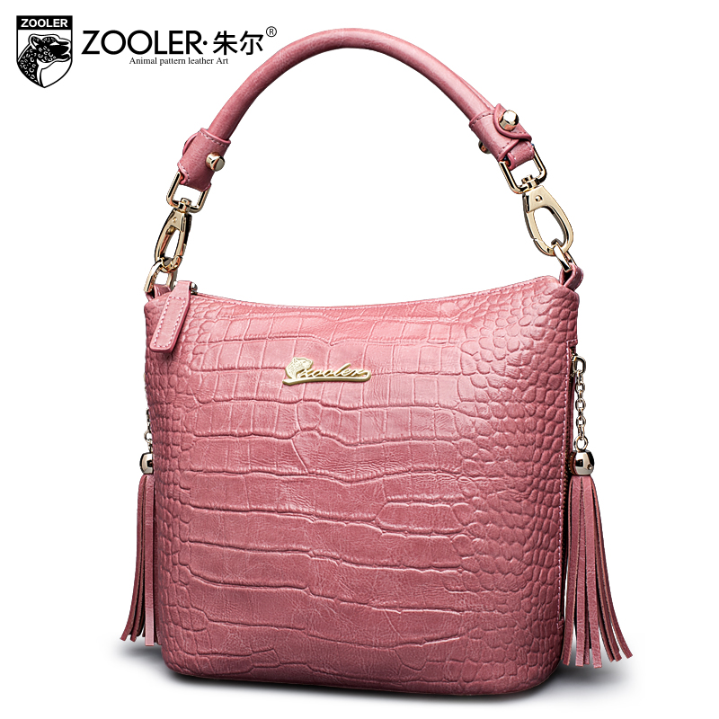ZOOLER factory wholesale cowhide bag!2017 top handle women bag genuine leather shoulder bag top quality famous brand ladies#2338 купить