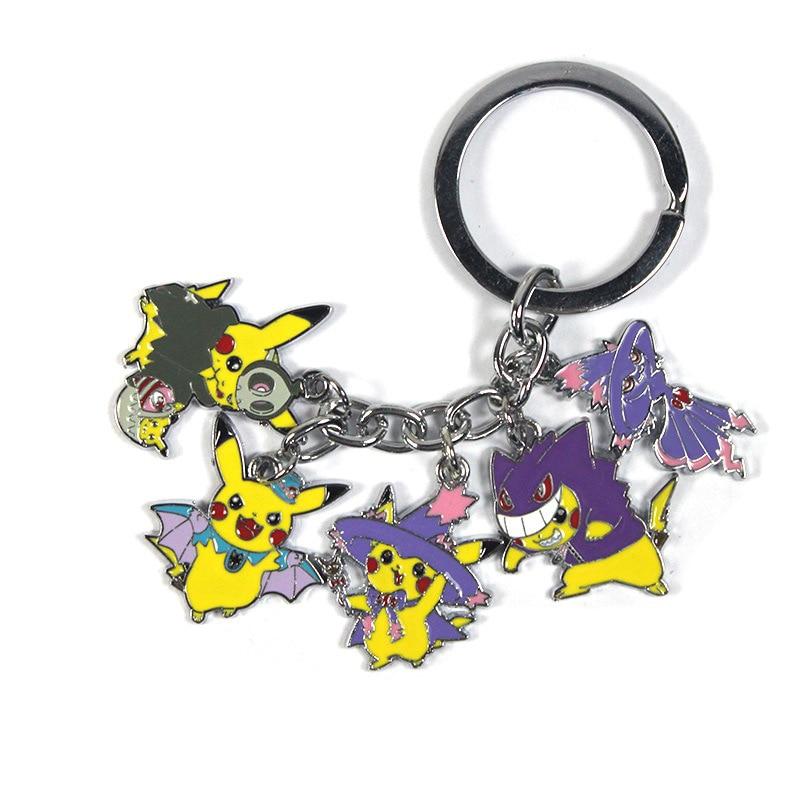 anime-font-b-pokemon-b-font-sun-moon-solgaleo-keychain-card-pendant-cosplay-collection-costume-accessories