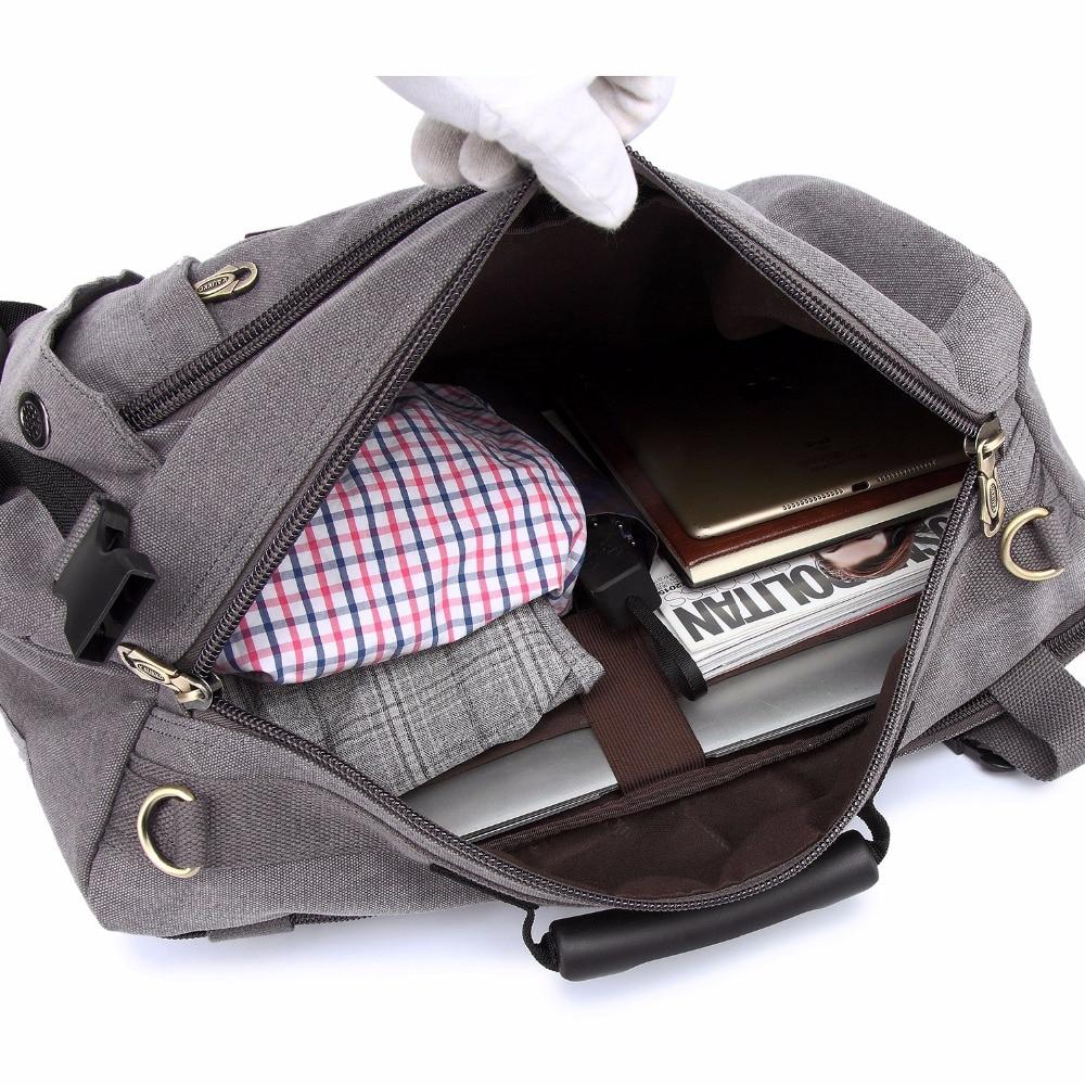 escola mochila grandes homens de Técnica : Hand Sewn
