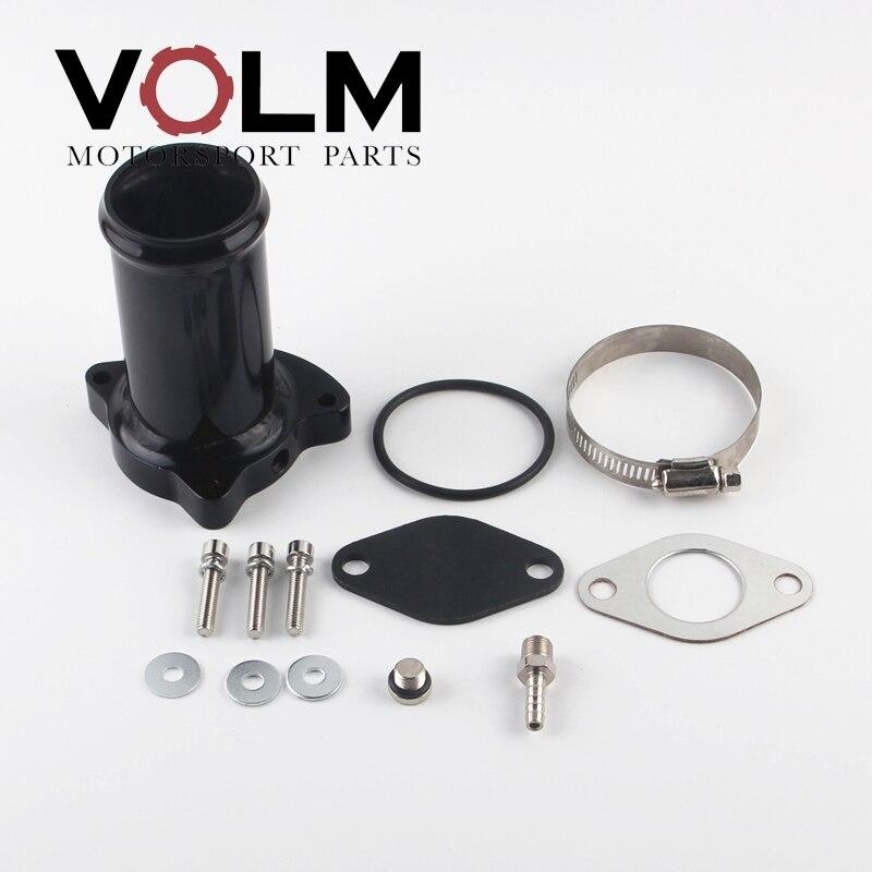 57MM 2,25 zoll Agr-ventil löschen bypss ventil rohr für vw 1,9 TDI 130 160 BHP egr löschen rohr diesel egr 1112