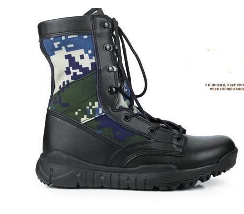 38 colorido Masculinos Deserto Masculino Tático Verde Combate Táticas De Botas 44 multi Sapatos Homens Camuflagem Grande Militar Tamanho Rwx81T51