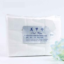 1 Bag/900PCS Nail Tools Bath Manicure Gel Nail Polish Remover Lint-Free Wipes 100% Cotton Nail Art Equipment