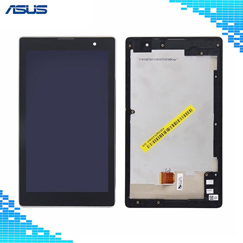 Full screen For Asus Z170 LCD Display Touch Screen Assembly Repair For Asus ZenPad C 7.0 Z170 Z170CG LCD screen For Asus Z170CG folio stand pu leather cover case for asus zenpad c 7 0 z170 z170c z170cg z170mg 7 tablet 2 pcs screen protector