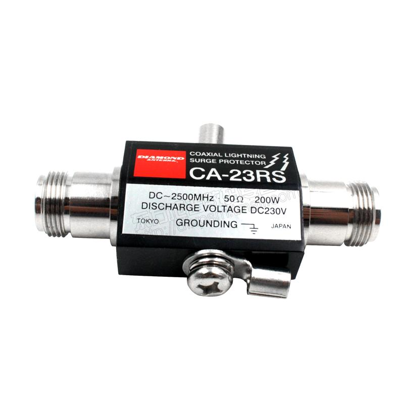 Coaxial RF arrester CA-23RS/CA-23RP 200W DC230V Lightning Surge Protector Arrester (N) Connector Free Shipping areyourshop 5pcs lightning arrestor n male plug to n female coaxial 0 2 5ghz 400w ca 23rp