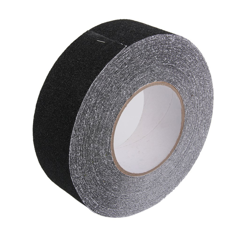 1 Roll 5m(L)*5cm(W) Anti Slip Non Skid Adhesive Tape Stair Step Floor  Bathroom Safety Black In Tape From Home Improvement On Aliexpress.com |  Alibaba Group