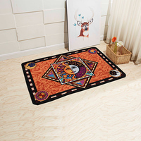 New 3D Print Bathroom Carpet Door Mat Rug Anti Slip Rectangular Bedroom Kitchen Floor Mats Cute