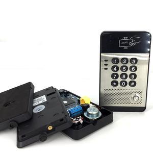 Image 4 - IP65 IP Görüntülü Kapı Telefonu su geçirmez Kapı Zili interkom sistemi desteği PoE