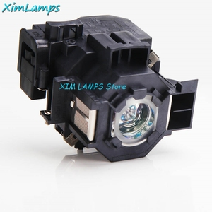 Image 2 - V13H010L41 Projector Lamp with Housing For Epson PowerLite S5 / S6 / 77C / 78, EMP S5, EMP X5, H283A, HC700