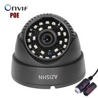 IP Camera POE 720P 960P 1080P 48IR LEDS Indoor Dome Security CCTV Surveillance ONVIF 2 0