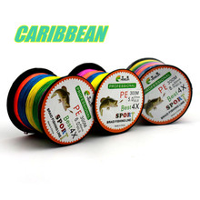 Part 4 300M PE Super fishing fish encyclopedia of fishing line braid fishing line colored strong horse line