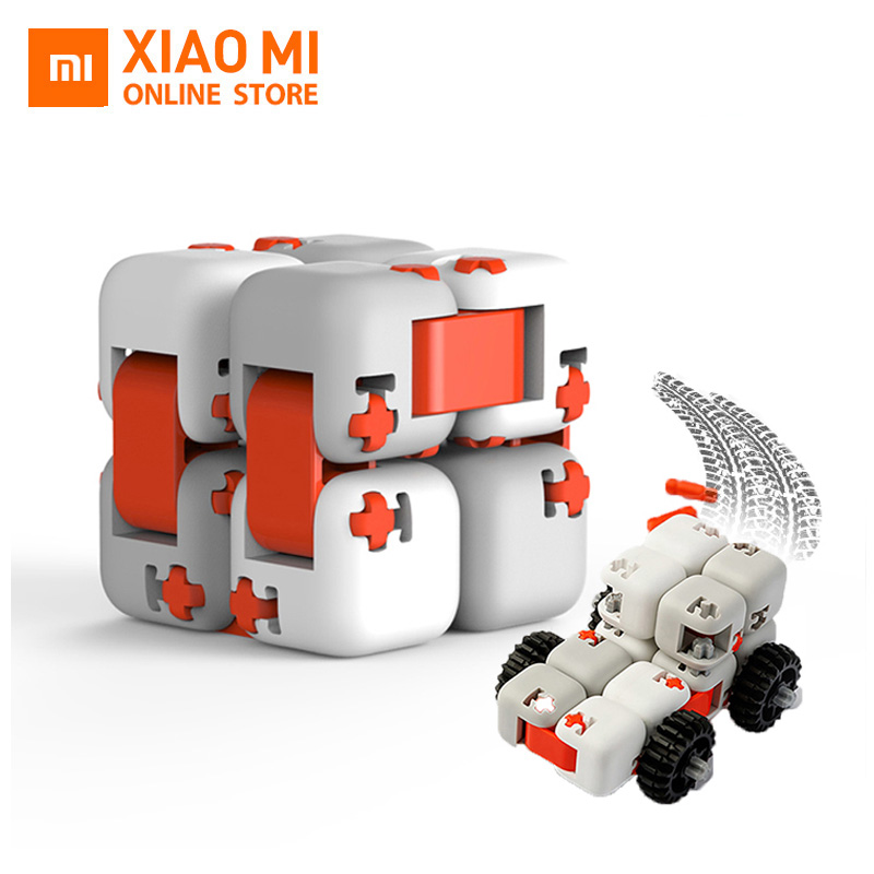Original xiaomi mitu Cubes Spinner Finger Bricks Intelligence Toys Smart Fidget Magic Cubes Infinity Toys Anti Stress Anxiety(China)