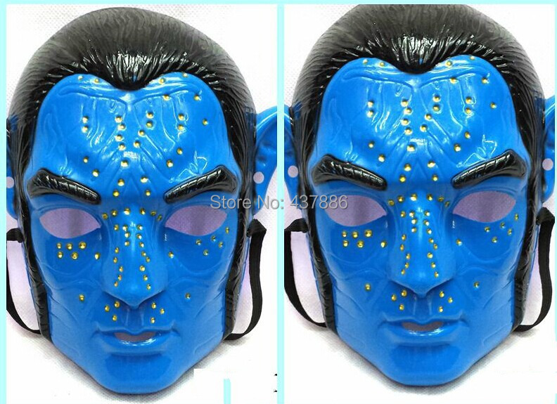 Avatar Mask Man Halloween Props Masquerade Masks For Party In Party