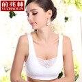 Lace Bra com removível pads das mulheres de dois - o dobro colete casuais shaper tops de uma peça bras com renda B-1441