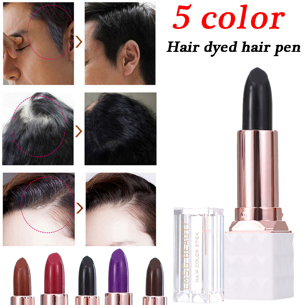 Hair Care & Styling New 2018 Hot Fashion Hair Color Pen New Fast Temporary Hair Dye To Cover White Hair Dyed Hair Pen Drop Shipping