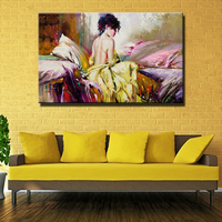 Painting Frameless Picture Oil Painting Wallpaper Painting Of Famous Painters For Living Room Decoration