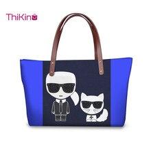 Thikin Karl Lagerfelds  Large Shoulderbag Handbags Women Wallet Girls Purse Leather Storage Notecase Cute Pet Zipper Mochila