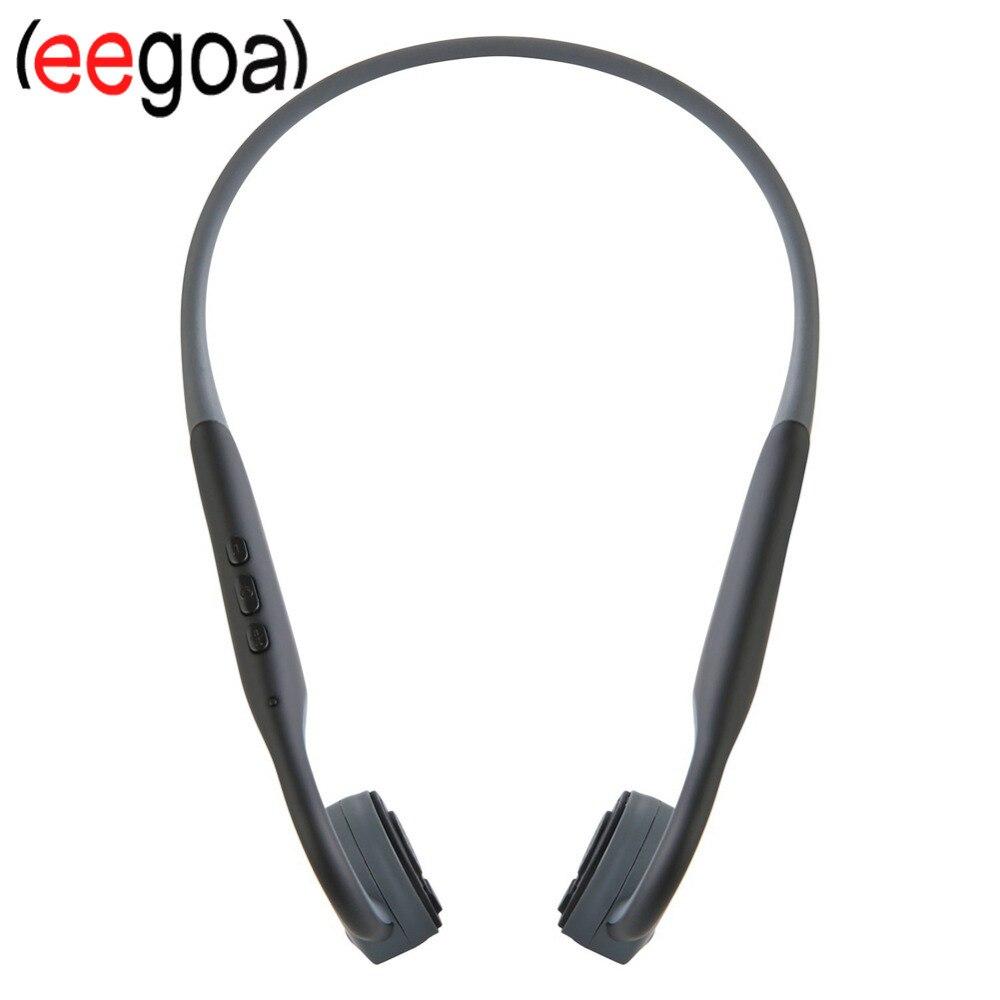 Bluetooth étanche 5.0 écouteurs à Conduction osseuse écouteurs haute fidélité qualité sonore faible consommation d'énergie ABS Silicone