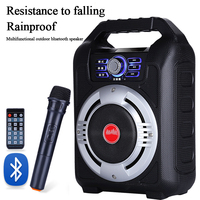S38 Bluetooth Audio Heavy Subwoofer Card U Disk Square Dance Audio Portable Outdoor Speaker Bluetooth Connection External Audio