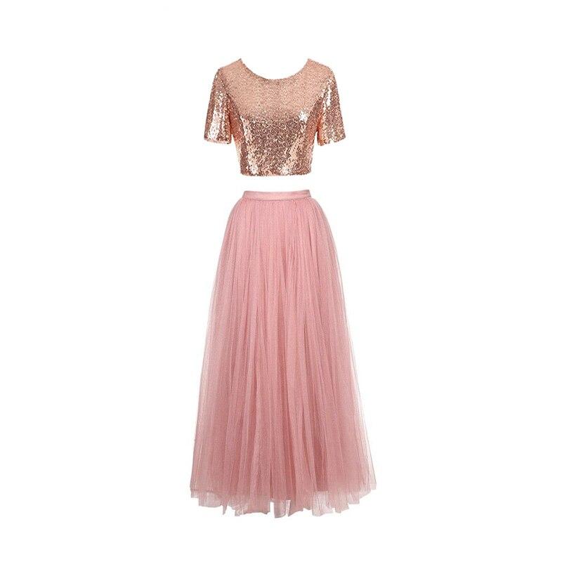 Increíble Dos Piezas De Vestido De Dama Regalo - Ideas de Vestido ...