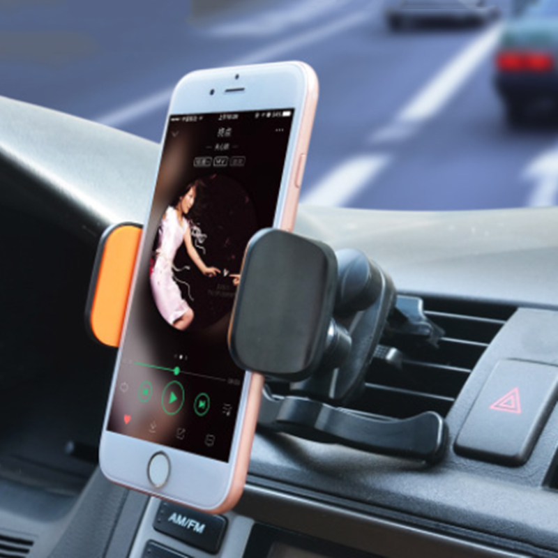 Universal Cell Phone Car Mount Stand Clip Air Vent Mobile Phone Holder for iPhone x 8 Huawei xiaomi samsung s9 plus oneplus 5t in Phone Holders Stands from Cellphones Telecommunications