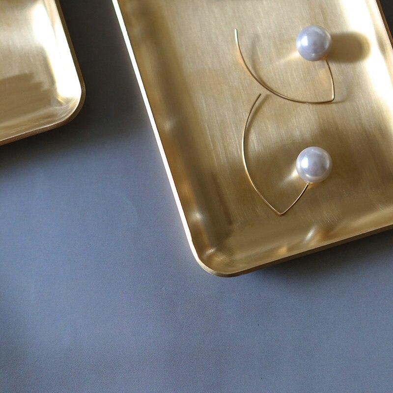 Bijoux assiette en laiton bague clés   Ornements petit personnel organisateur plateau en métal, Placas décoratifs, décoration de bureau à domicile, artisanat