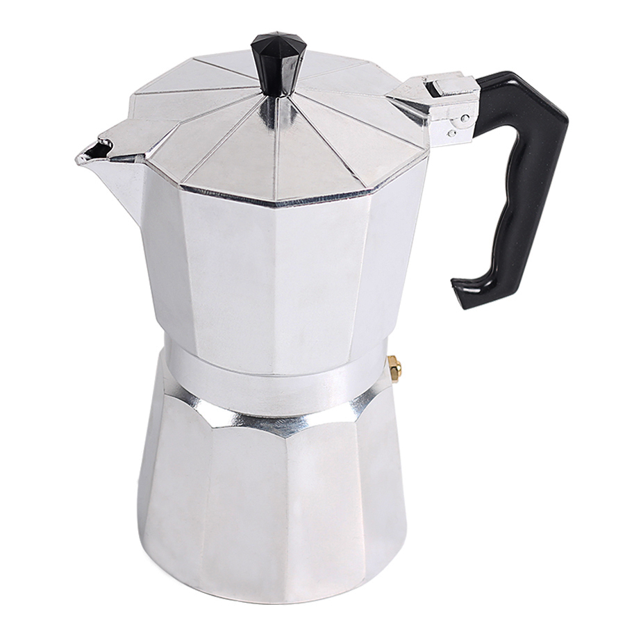 Homeleader Coffee Makers Italian Top Moka Espresso Cafeteira Expresso Percolator 3cup 6cup 9cup 12cup Stovetop Maker In From Home