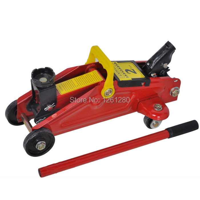 flooring hydraulic jack lifting tool home car 2T tire change tool repair tool 2t hand hydraulic car jack vertical automobile van suv hydraulic jack tire replace useful tool plastic case package light weight