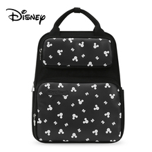 купить Disney 2019 NEW Mummy Maternity Nappy Bag Large Capacity Baby Mickey Mouse Diaper Bag Travel Backpack Nursing Bags for Baby Care дешево