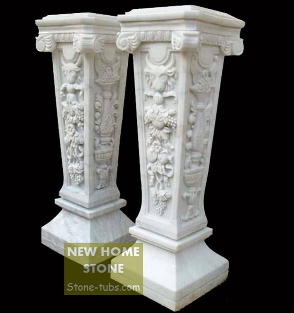 Aliexpresscom Buy Stone Columns Design Magnificent Square