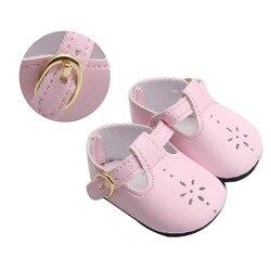 Большие размеры 40-43 см для ухода за ребенком для мам для маленьких мальчиков куклы обувь розовый цветочек модельные туфли американский ново...