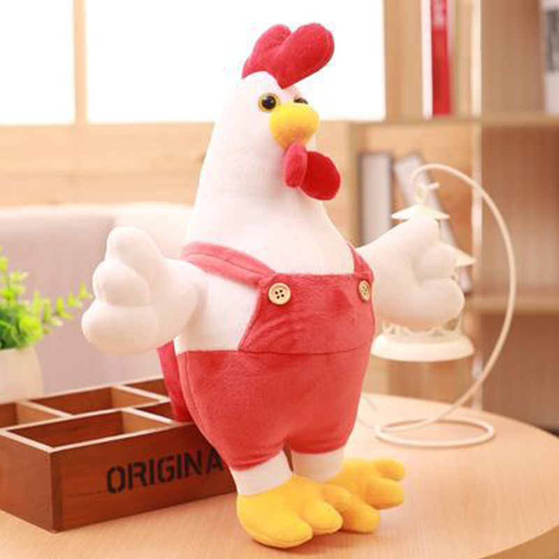 30CM Chicken Doll Stuffed & Plush Animals Children Kids Toys Cock Dolls Soft Rooster Birthday Gifts Cute Decor Pillow Wholesale30CM Chicken Doll Stuffed & Plush Animals Children Kids Toys Cock Dolls Soft Rooster Birthday Gifts Cute Decor Pillow Wholesale