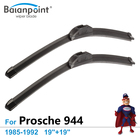 "Wiper Blades For Porsche 944 1985-1992 19""+19"", Set of 2Pcs, Exact Fit Windscreen Wipers"