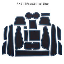 Для Roewe RX5 аксессуары, 3D автомобильный резиновый коврик автомобильный нескользящий коврик, Нескользящие Коврики для межкомнатной двери коврик/чашка коврик