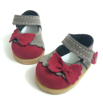 Iq umysł BEIOUFENG jedna para 5 CM przyczynowy trampki buty BJD lalki akcesoria do butów dla lalek, moda motyl projekt łuk krawat zabawki buty