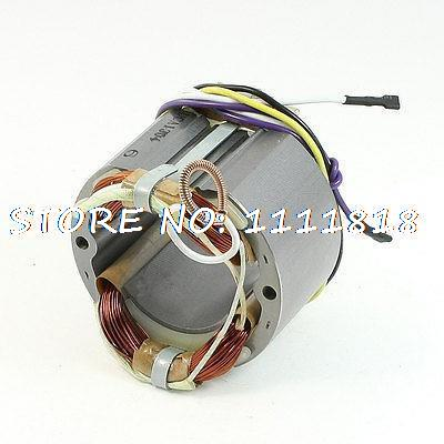 цена на AC220V Cutting Machine Part 55.1mm Core Armature Stator for Makita LS1040