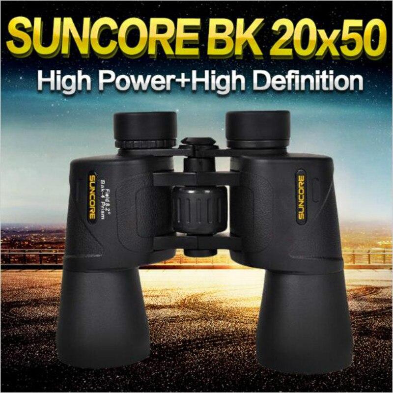 ФОТО Suncore 20x50 HD High Powered Binoculars Waterproof Telescope Fully Green-co Telescopio Polowith Wide Angle Vision Hunting Bak4