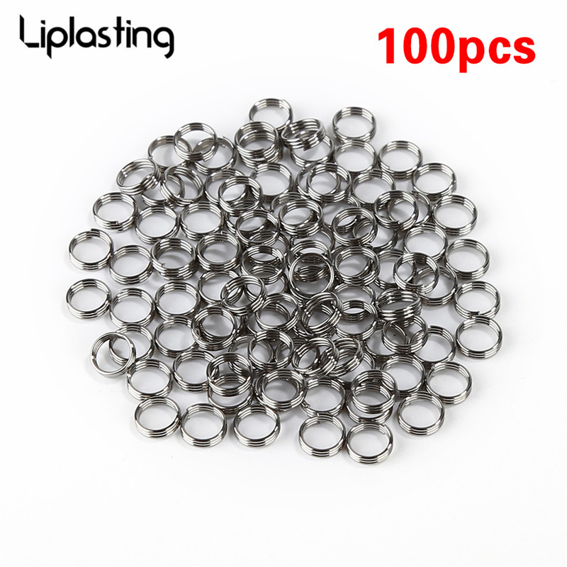 100Pcs/lot Professional Silver Dart Shaft Stainless Steel Rings For Nylon Darts Shafts Dart Accessories Hunting Dardos