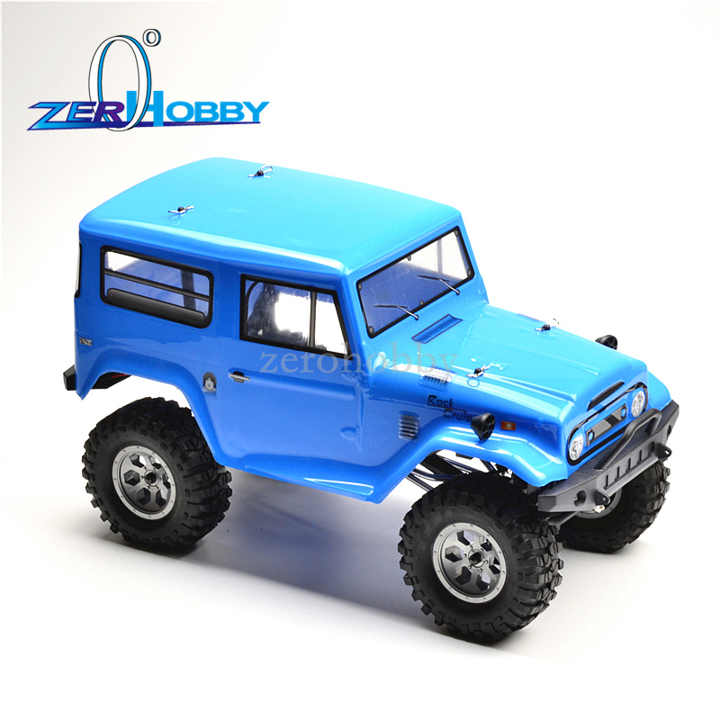 HSP RGT Racing 136100PRO 1/10 Scale Electric 4wd Off Road Rock Crawler Cruiser RC-4 Climbing Hobby Remote Control Car <font><b>LED</b></font> image