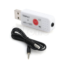 USB Thermometer Hygrometer Temperature Sensor Data Logger Recorder For PC Laptop