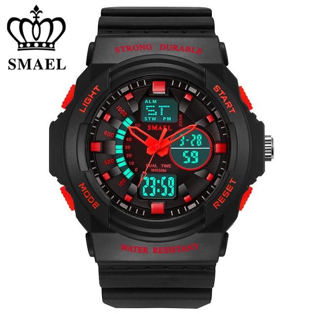 Fashion SMAEL Brand Children Watches LED Digital Quartz Watch Boy Girl Student M