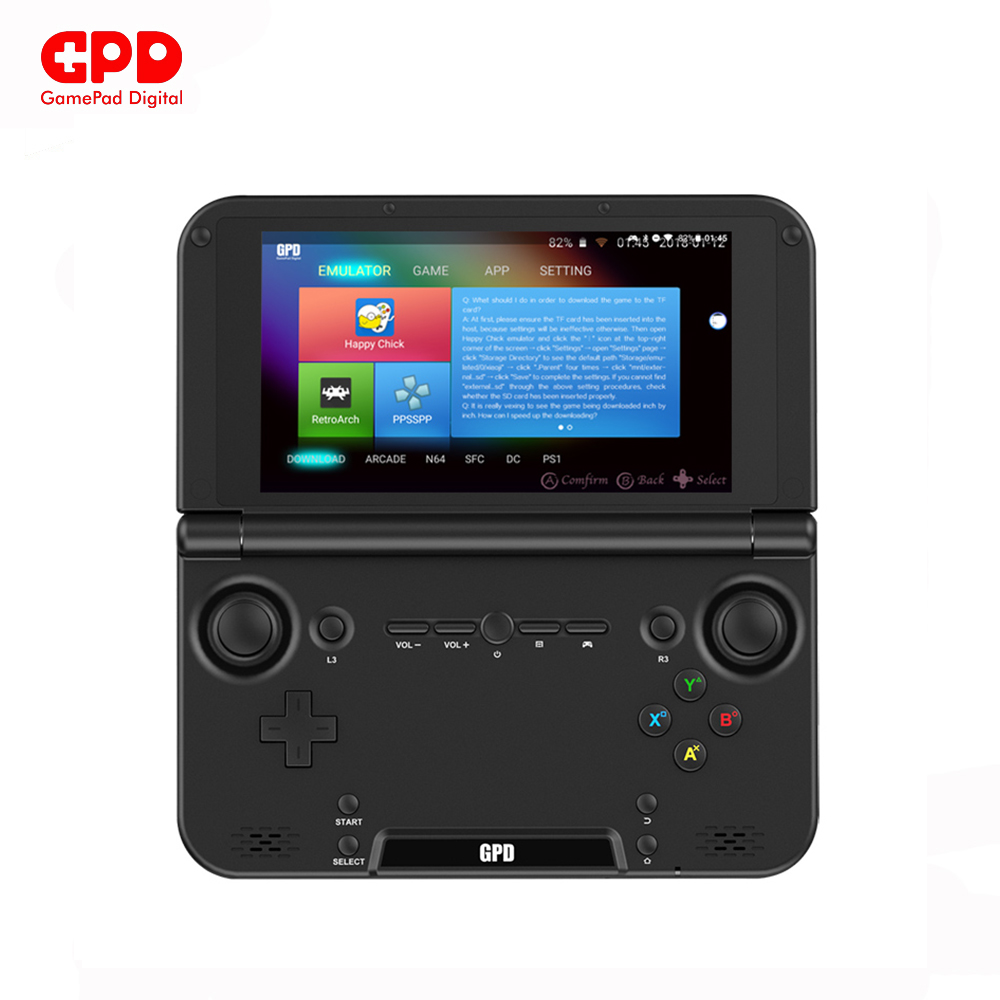 New Original GPD XD Plus 5 Inch 4 GB/32 GB MTK 8176 Hexa-core Handheld Game Console Laptop Android 7.0 1280*720 Game Player gpd xd 5 inch touchscreen quad core cpu mali t764 gpu 2gb ram and 32gb rom handheld game player handheld flip video game console