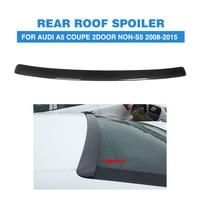 Carbon Fiber Rear Roof Window Spoiler Wing for Audi A5 Coupe 2Door Non S5 Non Sline 2008 2015 Rear Trunk Boot Lip Spoiler
