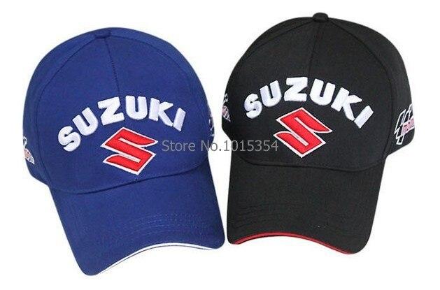 Prix pour En gros Nouveau style Voiture De Course Logo pour Suzuki En Plein Air Casquette de baseball Auto Racing broderie casquette de baseball chapeau