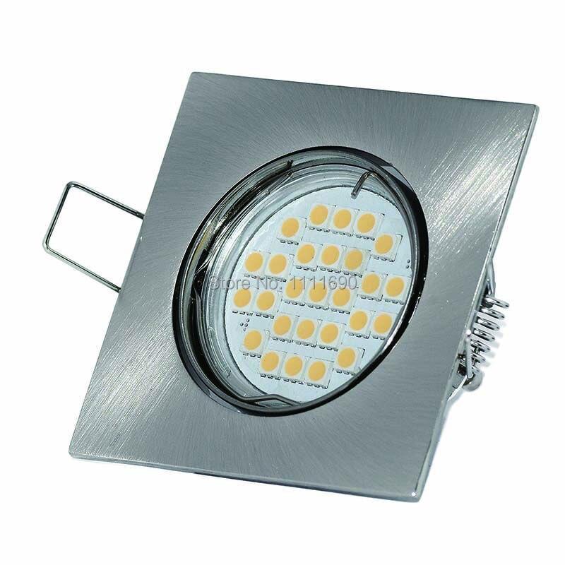 Bases da Lâmpada cetim níquel acessórios suporte ajustável Adjustable : Adjustable Downlight