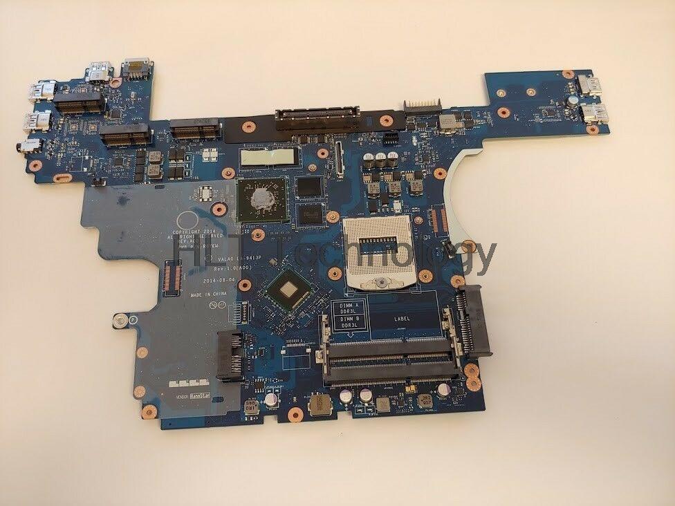 Ноутбук материнская плата для Dell E6540 LA-9413P CN-0R8YKW 0R8YKW R8YKW 2 Гб GPU HM87 DDR3