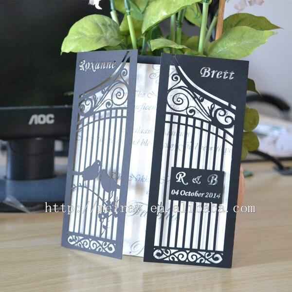 Wedding Invitations Birdcage: Birdcage Wedding Invitation Cards,birdcage Wedding Favor