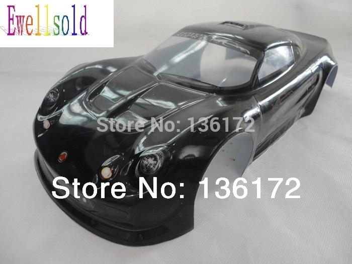 Ewellsold 1:10 RC Car accessories  1/10 RC car  Body Shell 200mm 033B black free shipping