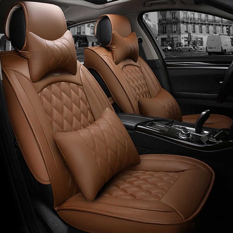 غطاء مقعد السيارة العالمي لتويوتا كورولا كامري أفينسيس rav4 حقوق الإنسان لاند كروزر برادو بريمو جميع نماذج غطاء مقعد السيارة