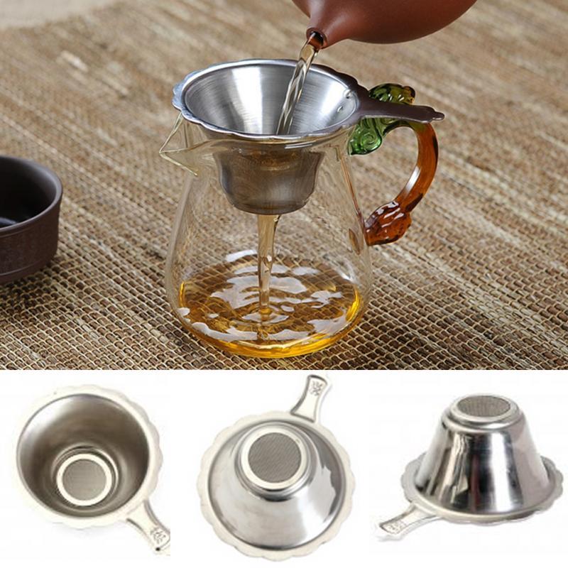 Tea Infuser Strainer With Fine Mesh For Teapot Tea Set Tea Tools For Brewing Tea Leaf Spice Filter