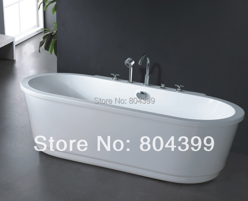 Aliexpress Com Buy Freestanding Bathtub Oval Massage